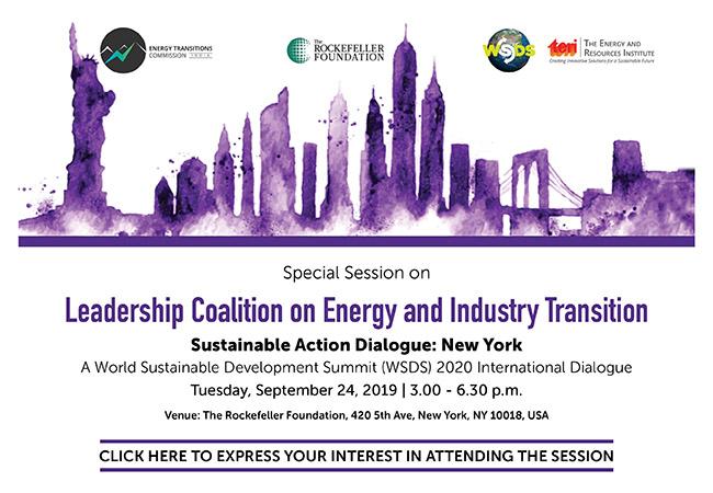 World Sustainable Development Summit (WSDS) 2020 - New Delhi